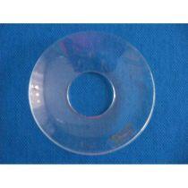 Glasmanschett, klar, 6,5 cm