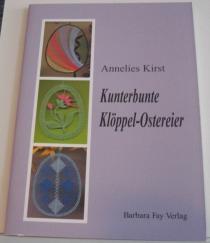 Kunterbunte Klöppel-Ostereier, bok