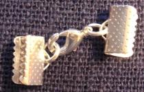Lås till armband 10mm silver