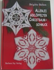 Allerlei geklöppelter christbaum-schmuck