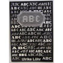 ABC in flandrischer Spitze, bok